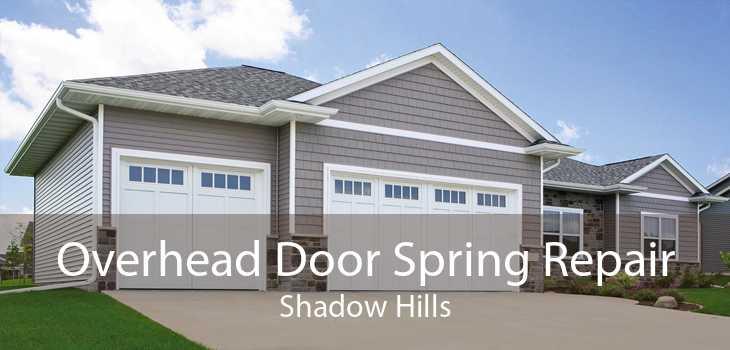 Overhead Door Spring Repair Shadow Hills